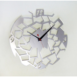 "Mirror Clock ""Geometry"""