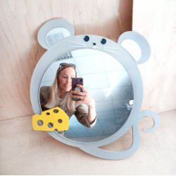 "Wall mirror ""Mouse"""
