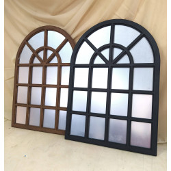 False window with painting...